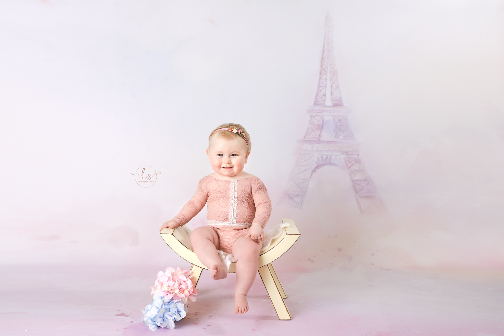 photo bébé décor paris studio