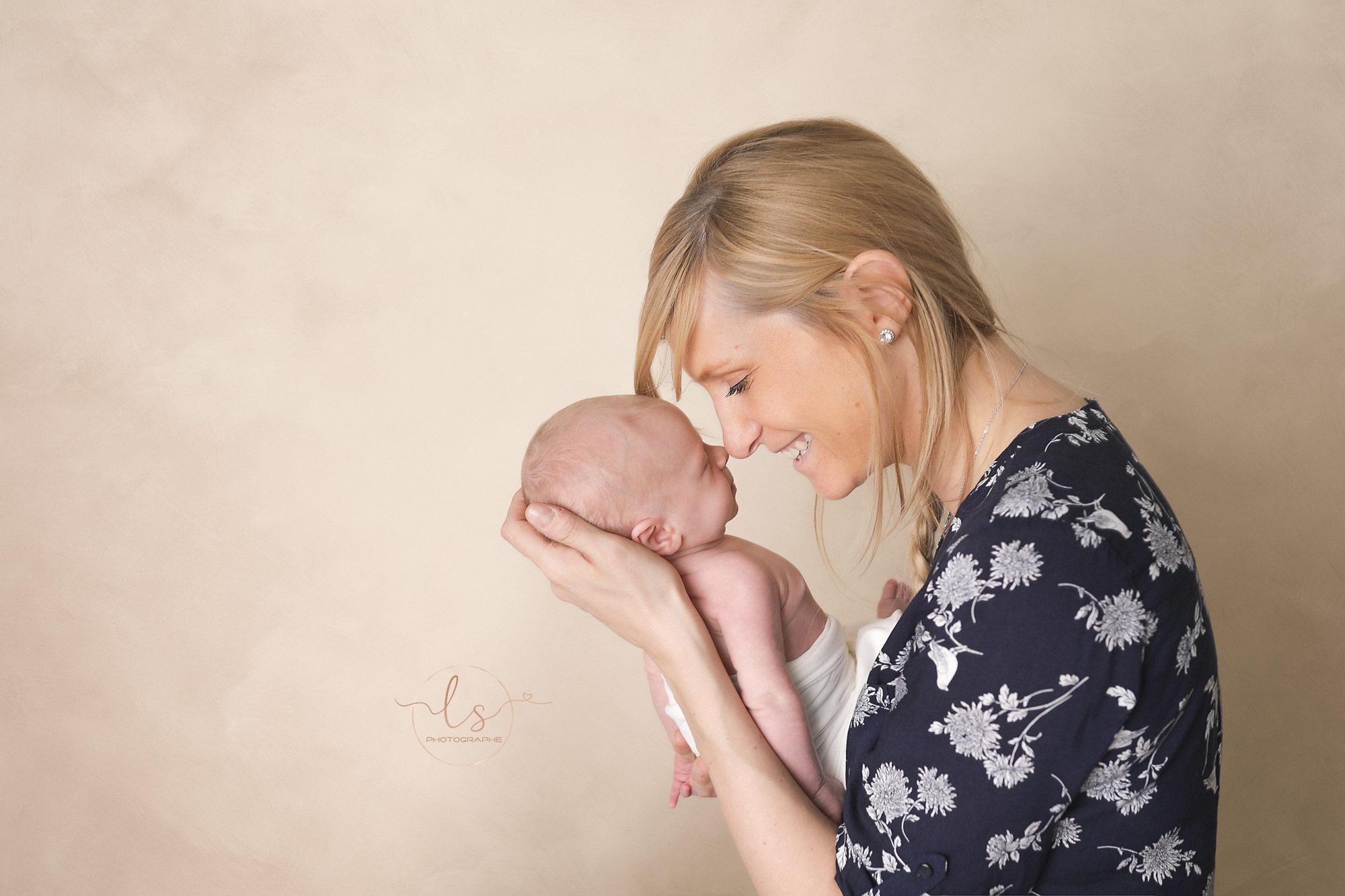 portrait maman bébé photographe Belgique