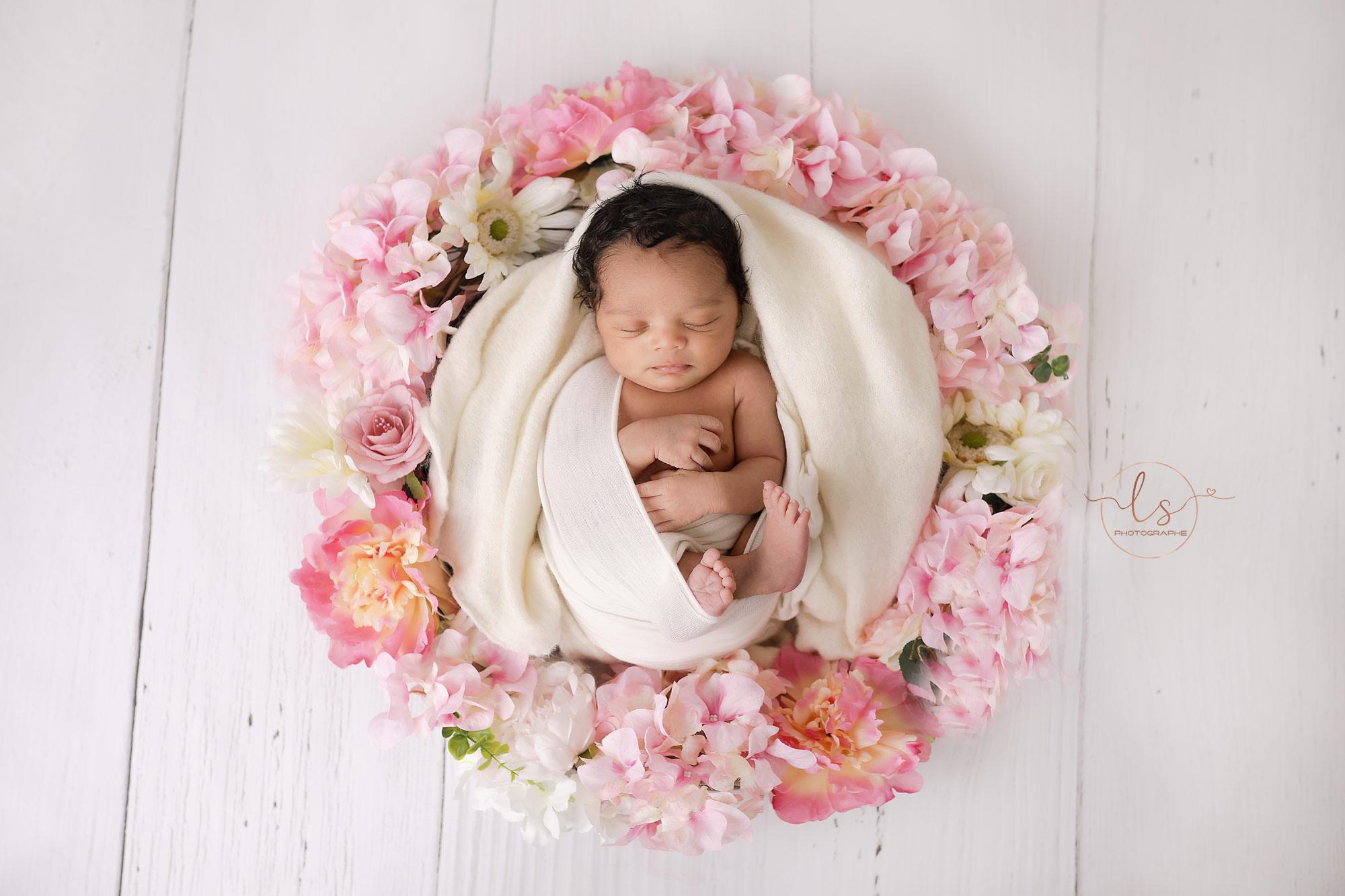 photographe nouveau-né naissance belgique studio
