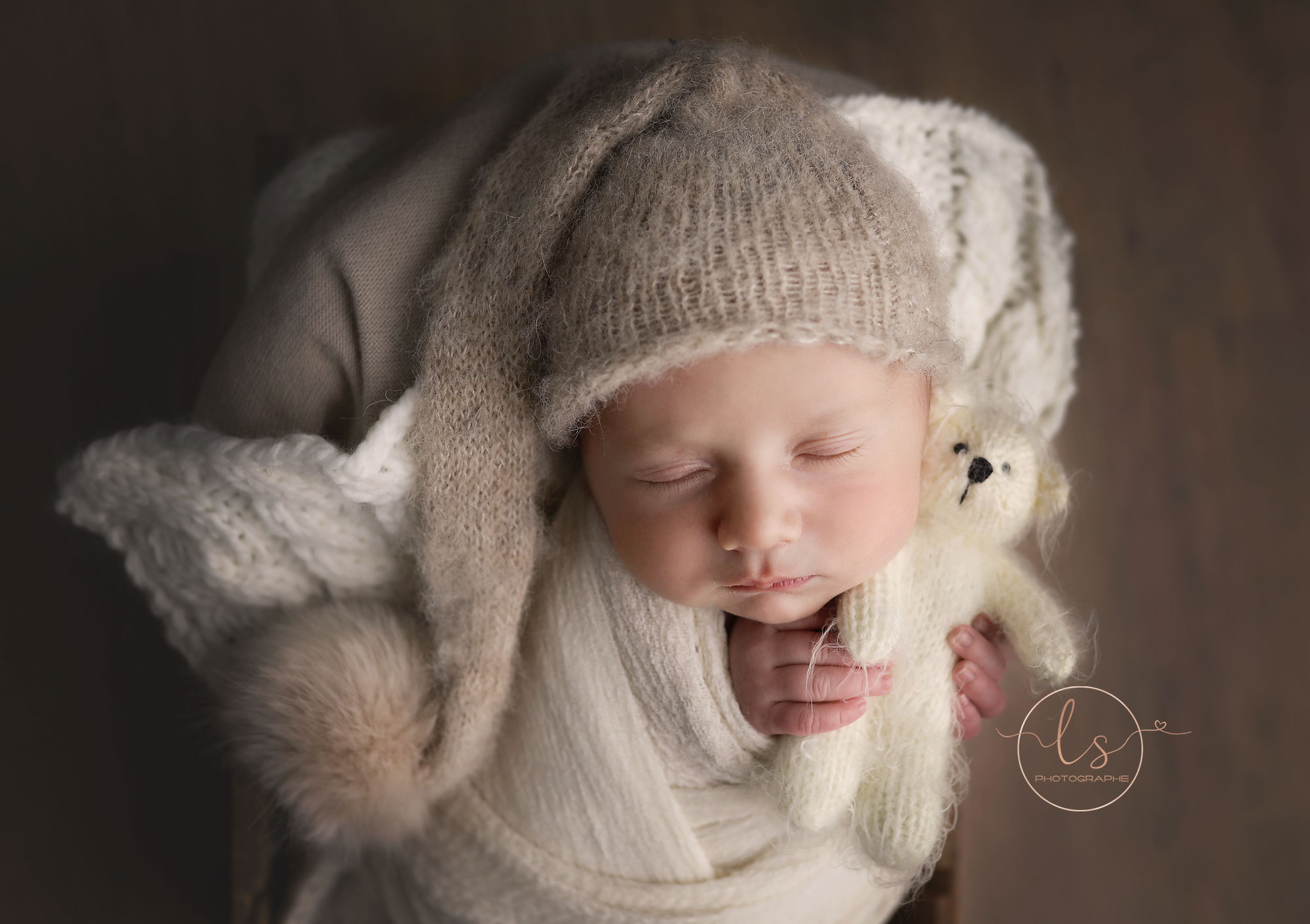 séance naissance studio Liège photographe