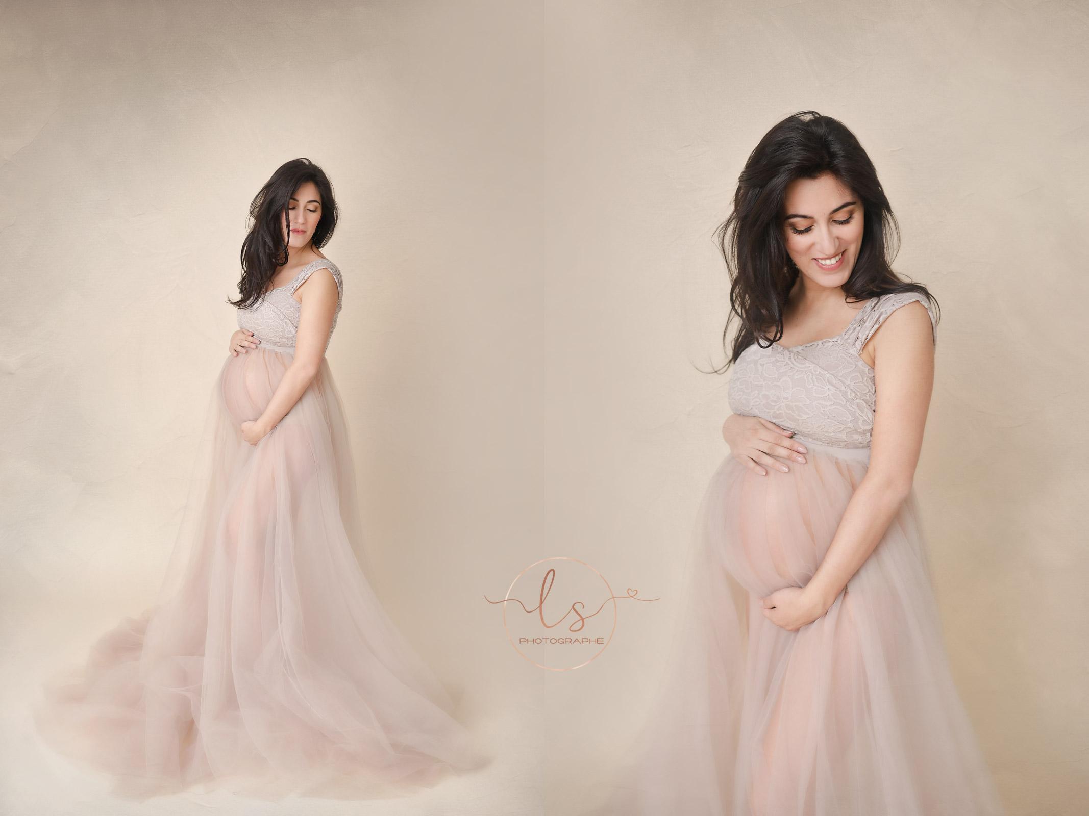 photographe grossesse belgique robe