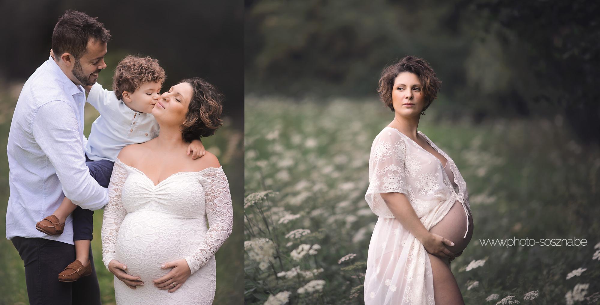 séance grossesse famille ainé Belgique