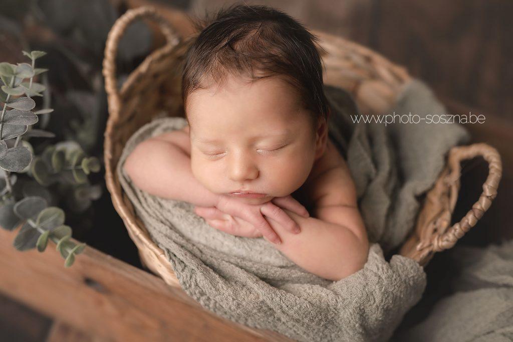 nouveau-né bébé photographie Liège Belgique