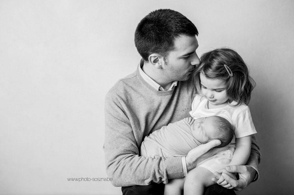 séance photo nouveau-né bébé famille Belgique