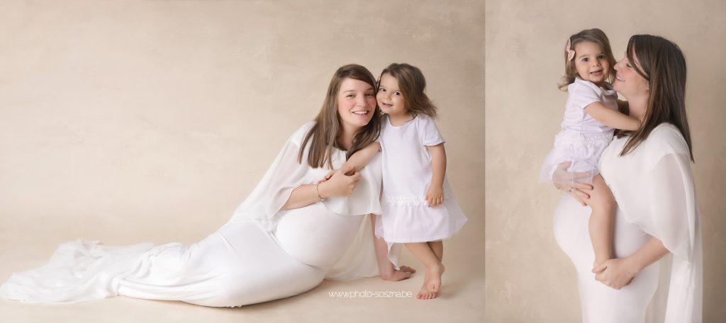 séance photo grossesse avec enfants  Belgique
