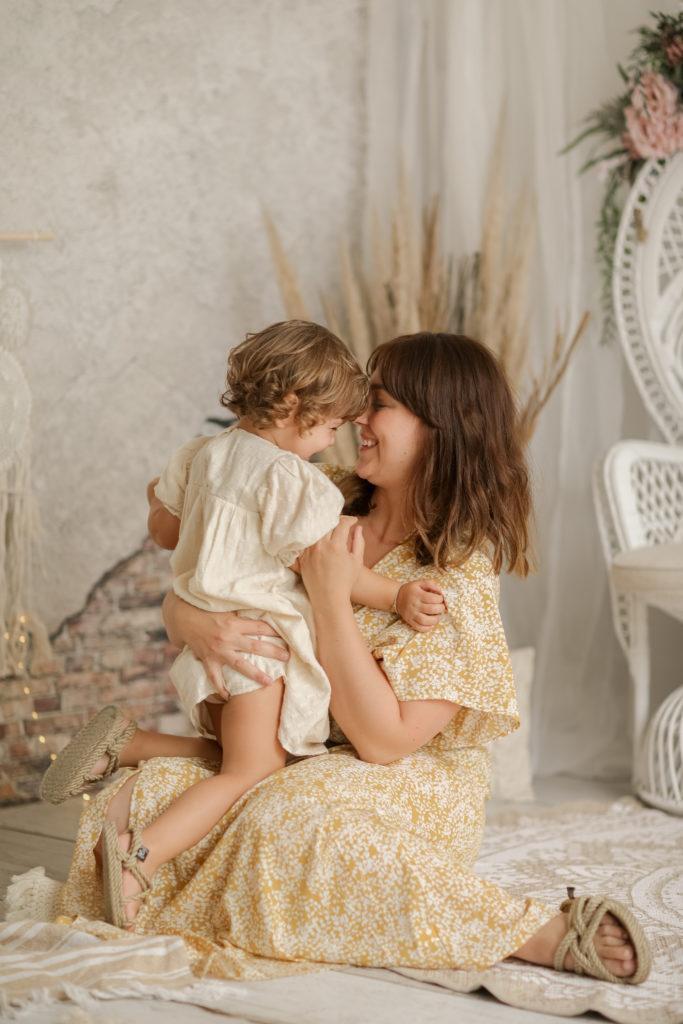 photographe maman et enfant