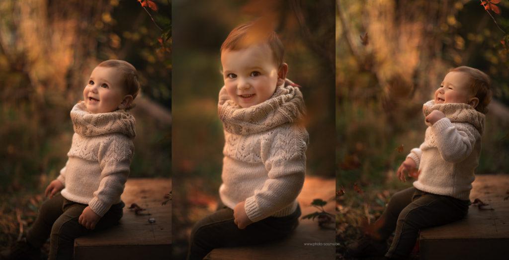 enfant automne photographe Liège