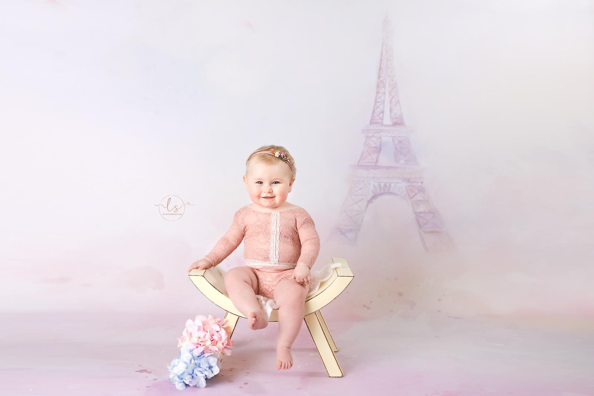 photo bébé décor paris studio