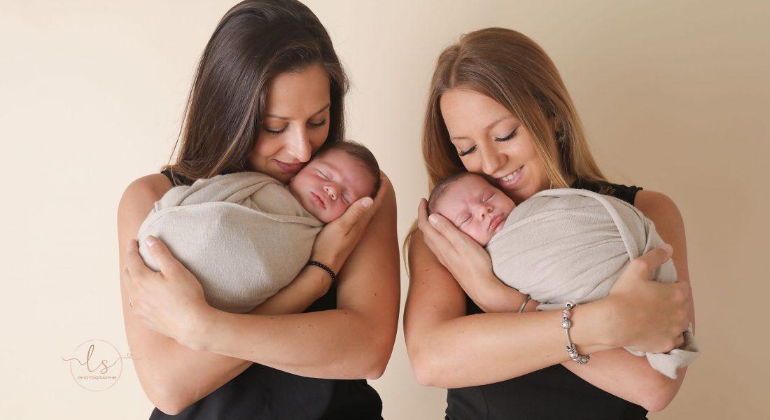 Deux soeurs, deux grossesses