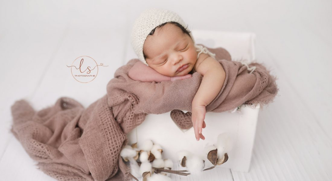 Séance nouveau-né : Rose