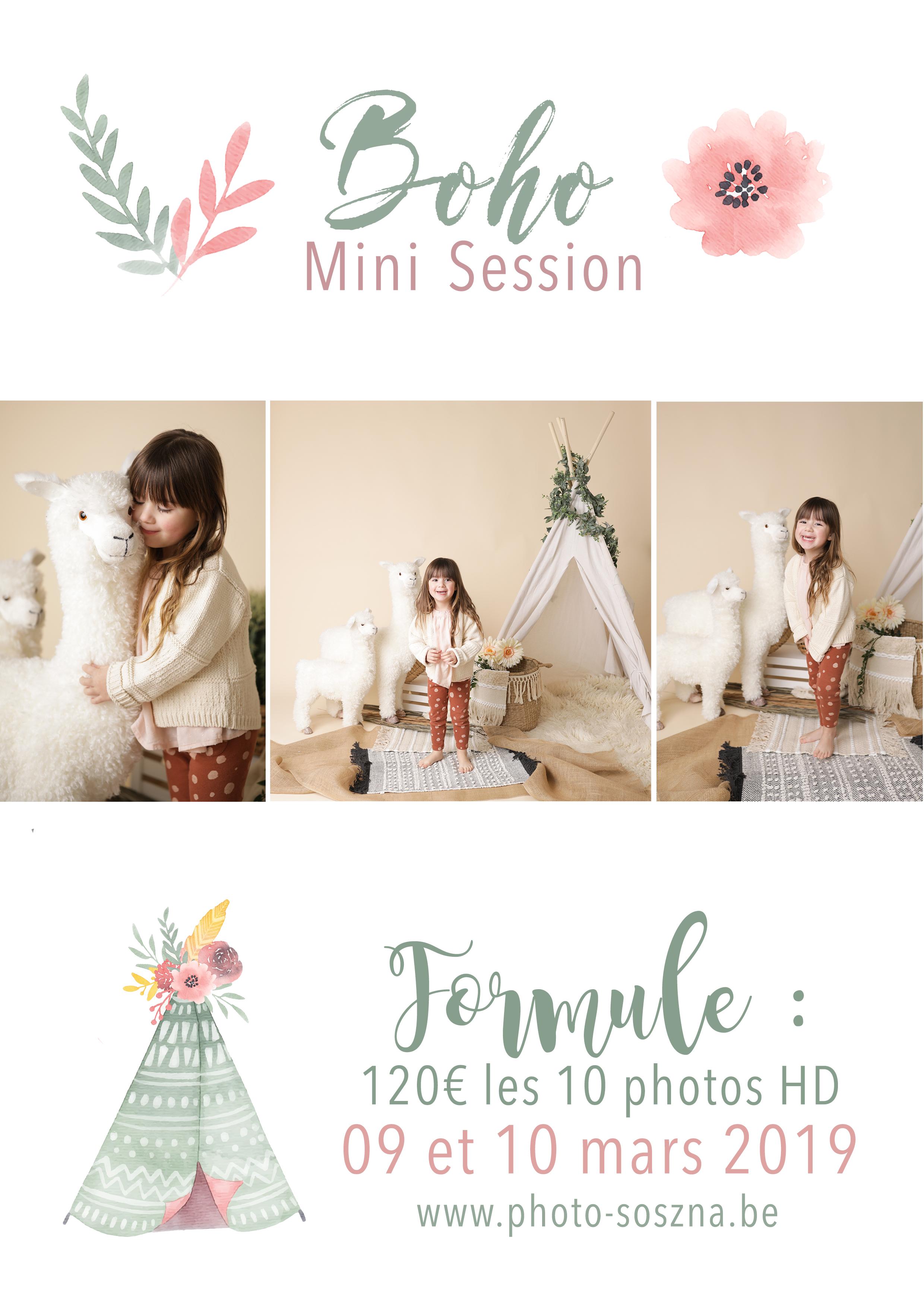 mini session BOHO LAMA