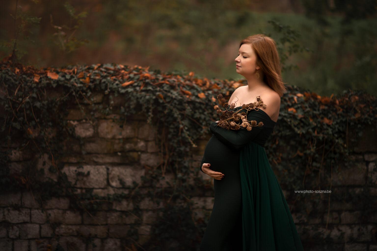 séance photo grossesse extérieure