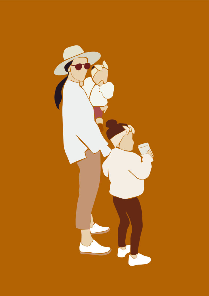 séance photo famille tenues