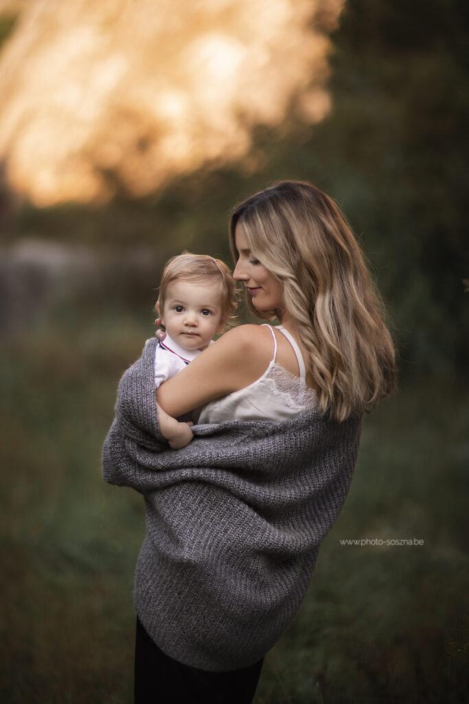 Séance photo maman et moi