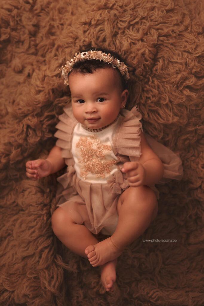 Séance bébé 6-9 mois studio Belgique